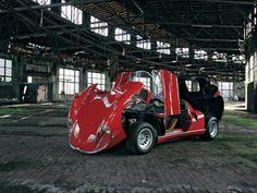 The Alfa Romeo 33 Stradale