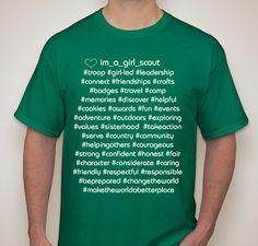 I'm a Girl Scout T-shirt Fundraiser Fundraiser - unisex shirt design - front