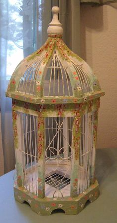 Antique Bird Cages | Vintage Bird Cage | Kate's Nursery  Birdcage Ideas: More At FOSTERGINGER @ Pinterest.