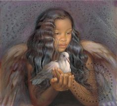 Angel of Forgiveness - Angel - The Sanctuary: The Art of Nancy Noel