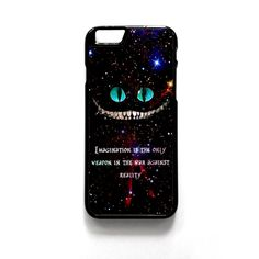 Alice In Wonderland Cheshire Cat Quote For Iphone 4/4S Iphone 5/5S/5C Iphone 6/6S/6S Plus/6 Plus Phone case ZG