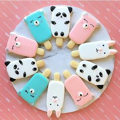 #popsicles  or #cookies ? This sweet-mashup is by @cookies.with.love + what's the cutest dessert combo/mashup you guys can think of??