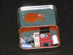 altoid tin sewing kit