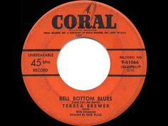 1954 HITS ARCHIVE: Bell Bottom Blues - Teresa Brewer