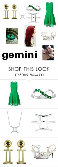 """""""Gemini"""" by arilovesu12 on Polyvore featuring Milly, BERRICLE, Rock 'N Rose and Caparros"""