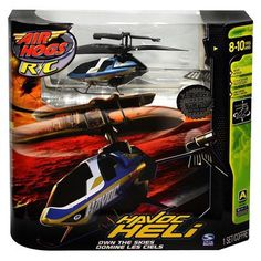Spin Master Air Hogs Blue & Gold V2C Remote Control Havoc Helicopter for $25.00