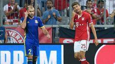 Thomas Müller im Spiel gegen Rostow | Bildquelle: dpa/Sven Hoppe