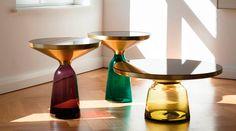 Bell Table, para Classicon, by Sebastian Herkner #design #classicon #belltable #sebastianherkner #furniture #habitusbrasil #brazilian #magazine #móveis