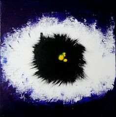 EYE  original acrylic abstract painting on by MilanPaintingStudio, €85.00