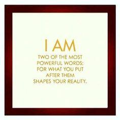 Motivational Quotes : I AM