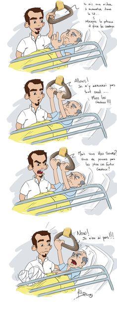 Oups gaffe infirmière!!!