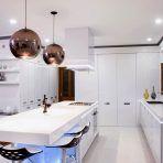 modern light fixtures for kitchen appealing design idea Kitchen Lighting Fixtures, Modern Light Fixtures, Modern Kitchen Design, Sink, Mirror, Design Ideas, Furniture, Home Decor, Sink Tops
