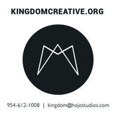 Business Card and Logo for Kingdom Creative