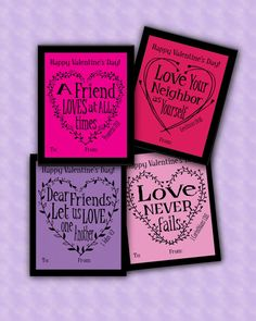 Valentine Cards School Instant download Pdf by ArtisintheHeart