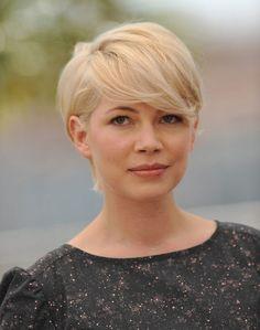 Festival de Cannes 2011 : la coiffure cheveux courts de Michelle Williams en 2010 !
