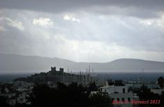 rainy day in (Bodrum Castle) - Bodrum/Mugla/TURKEY