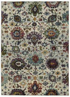 Oriental Weavers Andorra 7129A Stone/Multi