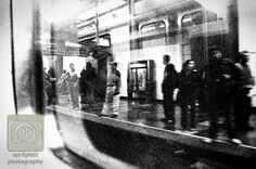 #transit #reflection #blackandwhite #photography  Black and White Transit Project.