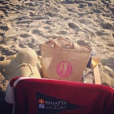 Spotted! An isola bag at Nantucket beach. Summertime with a great bag and a glass of wine. Love it!
