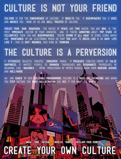 """""""Culture is not your friend"""" - Terrence Mckenna. Create a Roadshow. not a sideshow. Terence Mckenna, Question Everything, Thought Provoking, Awakening, Wise Words, Psychology, Create Yourself, Spirituality, Inspirational Quotes"""