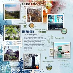 Scrapbook Ideas for Using Photos That Create a Record of Your World | Lynn Grieveson | Get It Scrapped