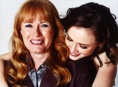830ec54697 Alexis Bledel with her real life mom. Daniel Palladino