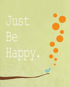 Art Print room decor positive happy quote motivational by HoneyBoo, $15.00