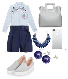 """""""Untitled #140"""" by ashartyray on Polyvore featuring Rails, Sea, New York, Topshop and Adoriana"""