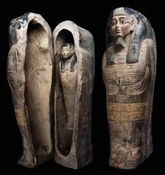 Sadigh Gallery's Ancient Egyptian Miniature Sarcophagus | Flickr - Photo Sharing!