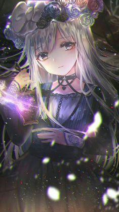 Gothic Anime Girl Art Gothic Anime Mädchen Kunst – New Ideas Anime Chibi, Chibi Neko, Fanarts Anime, Anime Characters, Pretty Anime Girl, Beautiful Anime Girl, Kawaii Anime Girl, I Love Anime, Anime Art Girl