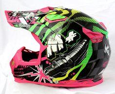 Masei 315 M Plus Motocross ATV DOT Dirtbike Helmet PINK L XL XXL