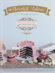 :: Crafty :: Clay :: Bakery :: Miniature food kawaii jewels fimo