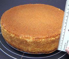 Kuchen gleichmäßig hoch backen ohne Hubbel in der Mitte  Form mit Alufolie, die nasses Küchentuch einschlägt überall einlagig umwickeln