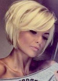 Short Layered Bob Damn I love this cut !!!!! More