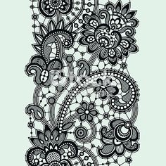 The post Black Lace. 2019 appeared first on Lace Diy. Tattoo Lace, Paisley Lace Tattoo, Black Lace Tattoo, Lace Tattoo Design, Lace Design, Pattern Design, Lace Drawing, Pattern Drawing, Fleurs Art Nouveau