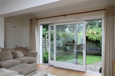 Bifold French Doors Interior Styles for Home Choosing A French Door For Your Home Folding Glass Patio Doors, Double Sliding Patio Doors, Exterior Sliding Glass Doors, Bifold French Doors, Double Glass Doors, Exterior Doors, Front Doors, French Doors To Patio, French Patio