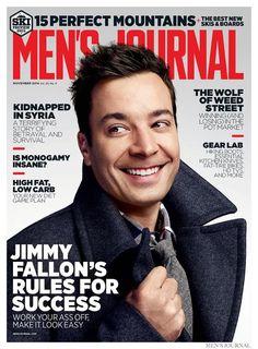 Jimmy Fallon Covers Men's Journal November 2014 Issue