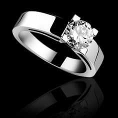 00047627236965 Solitaire diamant or blanc Céline Bague De Fiançailles Saphir Rose, Bague  Or Blanc Diamant,
