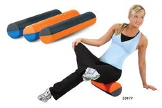 Elite Dual Color Foam Roller (12 in. H - Blue and Gray) AEROMATS