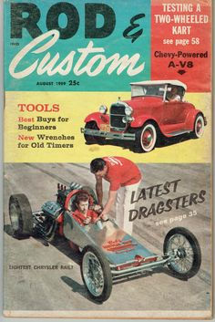 Automobilia Poster & Bilder Neu Hot Rod Plakat 11x17 Rodding Und Re-styling Für Royal Roadster Race