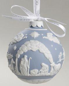 elegant  christmasornaments | Delightful Selection of Wedgwood Jasperware Ball Ornaments at ...