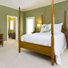 Bedroom earth tones