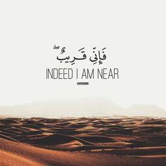 Quran [2:186] Beautiful Quran Quotes, Quran Quotes Love, Allah Quotes, Muslim Quotes, Islamic Quotes, Muslim Sayings, Quran Sayings, Qoutes, Ramadan Quran