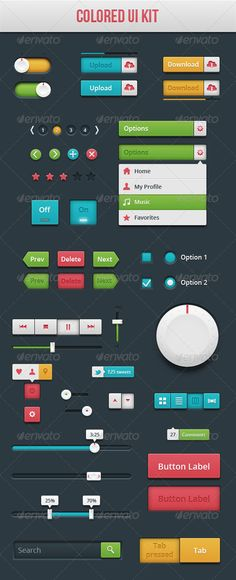 Colored+UI+Kit