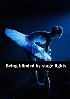 Performing in general- I fell during a performance off a chair- I was suppose to extend my leg once up on the chair but I fell I couldn't see because of the lights and the slippery mist that was being sprayed to give the fog look.  So damn embarrassing.