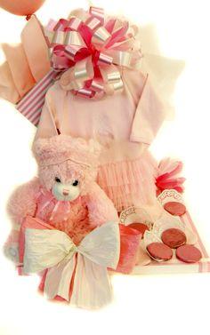 Tutu and Teddy Beautiful Gifts, Baby Girls, Tutu, Teddy Bear, Animals, Animales, Animaux, Little Girls, Tutus