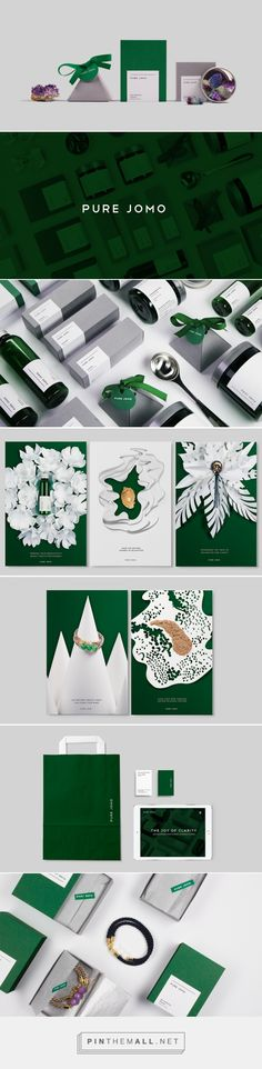 Pure Jomo — The Dieline - Branding & Packaging... - a grouped images picture - Pin Them All