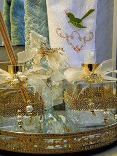 Vidros decorados para perfumes de ambiente
