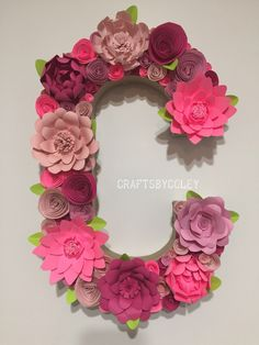 A personal favorite from my Etsy shop https://www.etsy.com/listing/385264654/16-paper-flower-letter-monogram