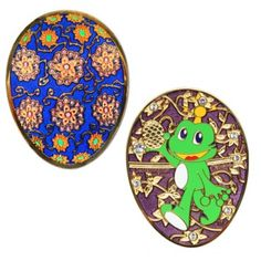 Signal the Frog Faberge Egg geocoin - already sold out on Geocaching.com!  Have it